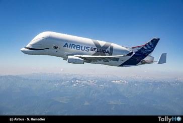 Primer BelugaXL realizó su vuelo inaugural