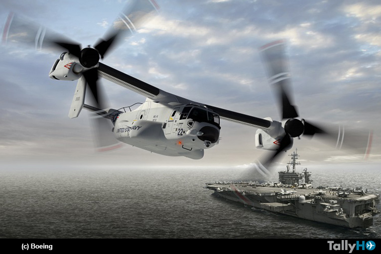 Bell Boeing extenderá producción del convertiplano V-22 Osprey