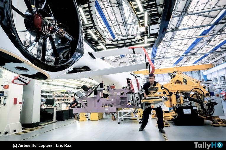 El primer modelo de pre-serie del H160 de Airbus Helicopters comenzó a ser ensamblado