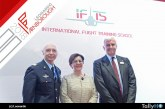 Leonardo y la Aeronautica Militare presentaron en Farnborough la IFTS International Flight Training School