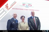 Leonardo y la Aeronautica Militare presentaron en Farnborough la IFTS International Flight Training School