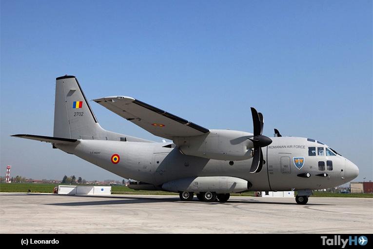 Con C-27J Spartan Fuerza Aérea Rumana apoya incendios en Grecia