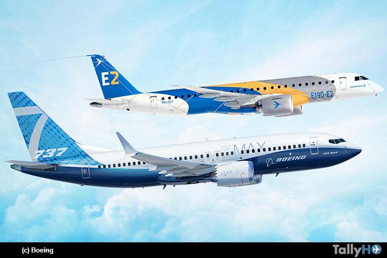 Boeing termina acuerdo para establecer empresas conjuntas con Embraer