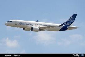 Airbus da la bienvenida al nuevo integrante de la familia el A220