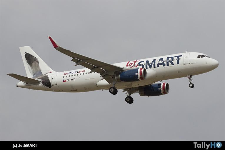 JetSMART se convierte en la aerolínea con mayor cantidad de rutas en Chile