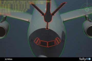 Primer reabastecimiento de combustible aire-aire automático del mundo a una aeronave de gran tamaño
