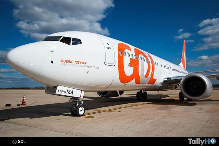 GOL recibe su primer Boeing 737 MAX 8