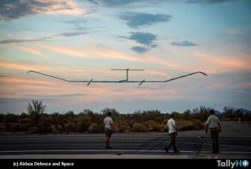 Airbus Zephyr S supera rércord de permanencia en el aire para una aeronave sin reabastecimiento