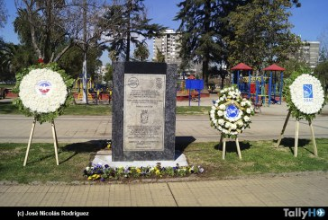 Conmemoración de los 108 años del primer vuelo en Chile