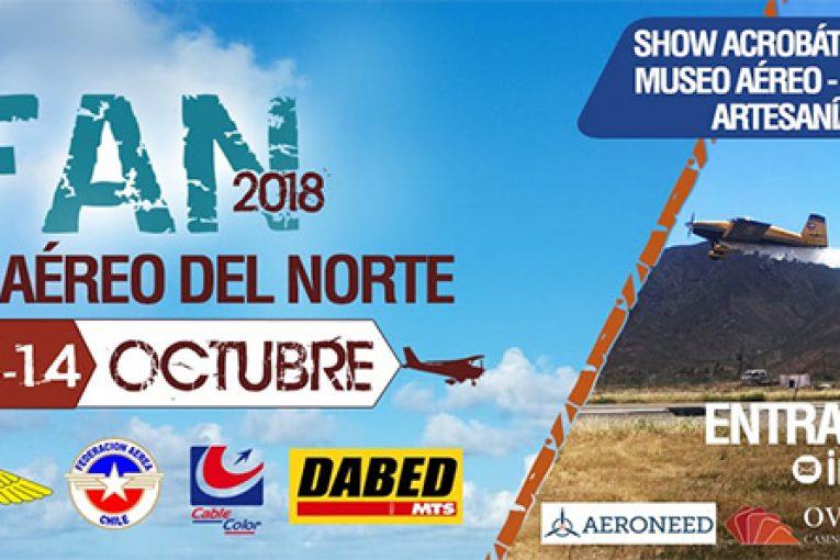Cada vez más cerca el Festival Aéreo del Norte 2018 en Ovalle