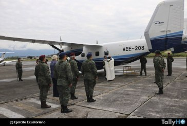 Aviación del Ejército Ecuatoriano recibe avión Sikorsky/PZL M-28 Skytruck
