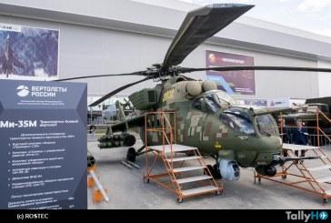 Rostec presentó nuevas versiones de helicópteros Mi-35M y Mi-35P actualizadas