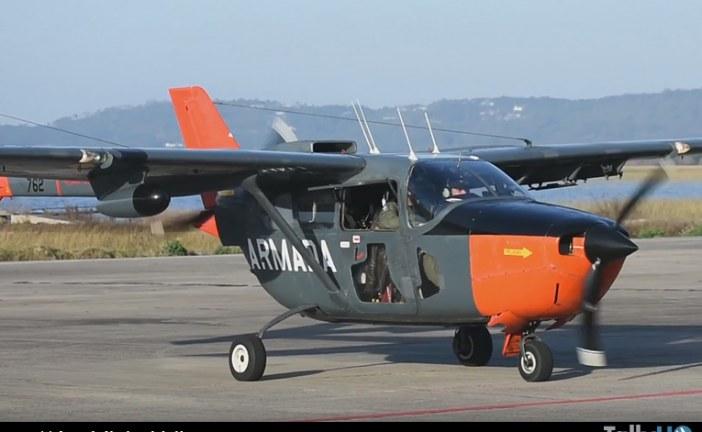 Llegaron a Uruguay aviones Cessna O-2 Skymaster de la Armada Nacional