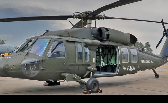 Fuerza Aérea de Chile presentó oficialmente los MH-60M Black Hawk