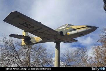 Club Aéreo de San Felipe recibirá avión Cessna T-37 para futuro Museo Aeronáutico al aire libre