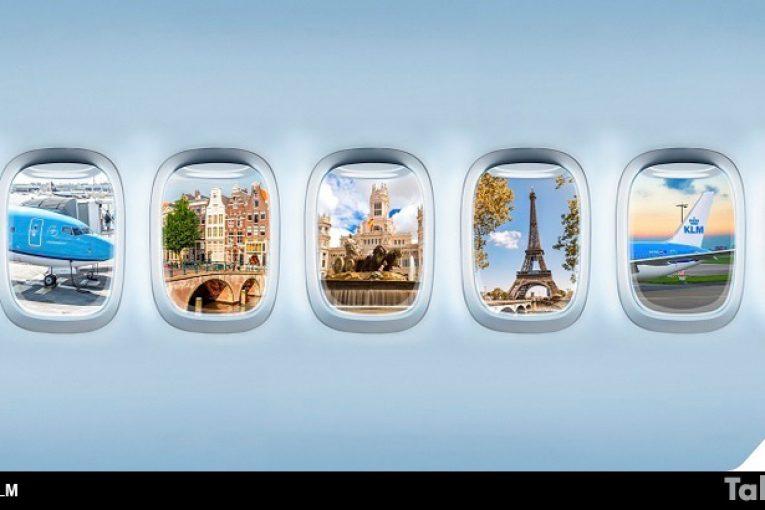 Air France y KLM ofrecen stopovers gratuitos en París y Ámsterdam desde y hacia su destino final