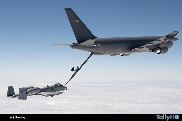 El avión Boeing KC-46 Pegasus completó el programa de certificación de la FAA