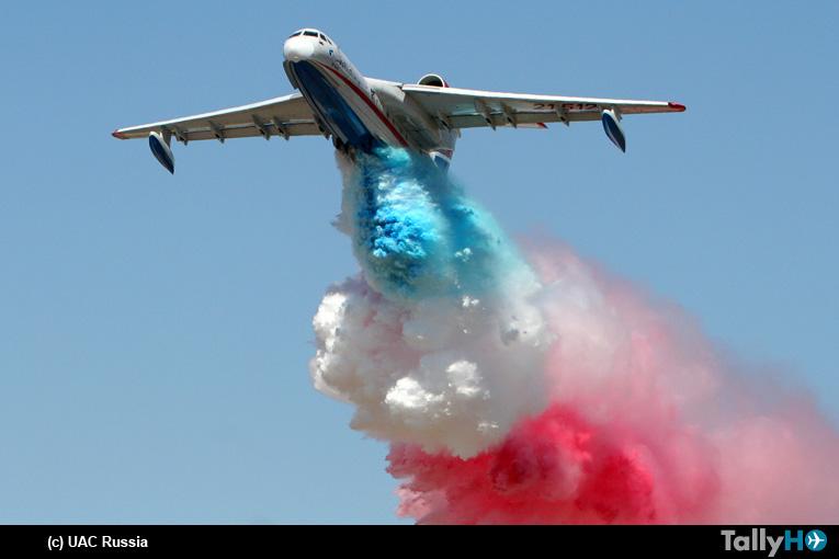 Empresa chilena firma acuerdo para compra de aviones contra incendio Beriev Be200ES