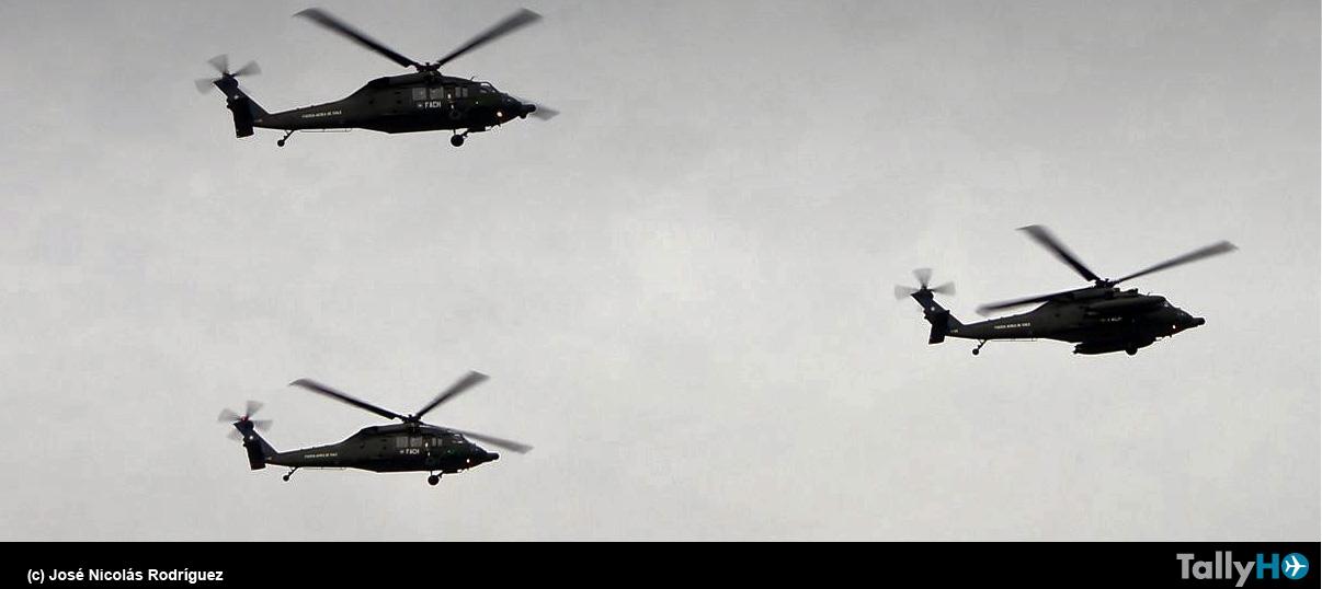 Desfile aéreo en la Gran Parada Militar 2018