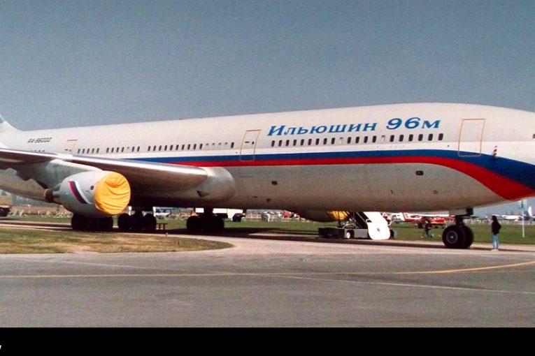 30 Años del primer vuelo del Ilyushin IL96