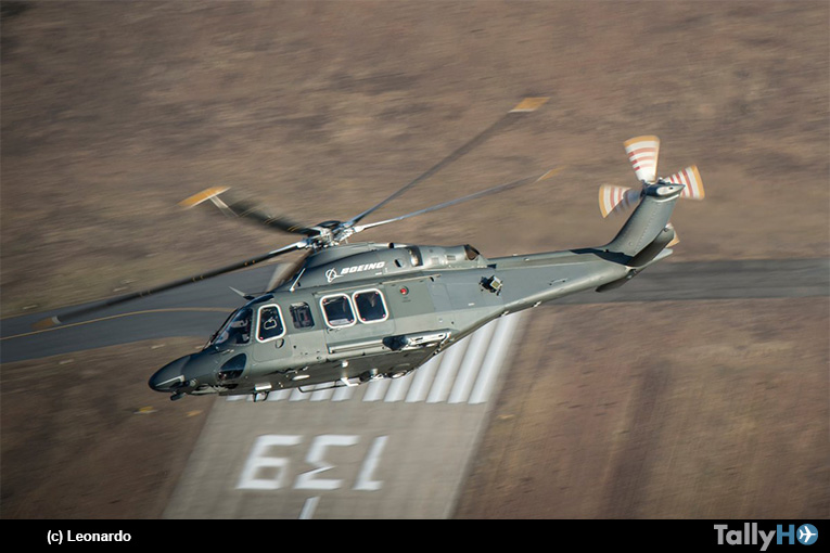 La USAF selecciona el helicóptero MH-139 basado en el Leonardo AW139