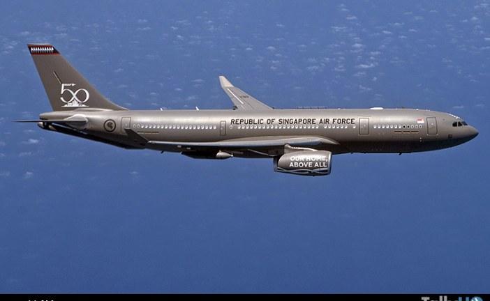 Fuerza Aérea de la República de Singapur recibió su primer Airbus A330 MRTT