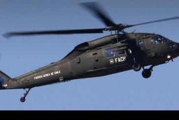 Componente aéreo en la Revista Preparatoria Parada Militar 2018