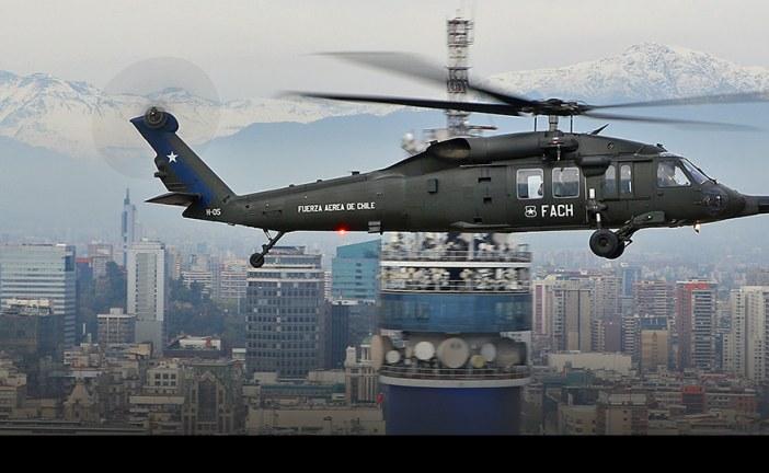 Vuelo en Sikorsky MH-60M Black Hawk de la Fuerza Aérea de Chile