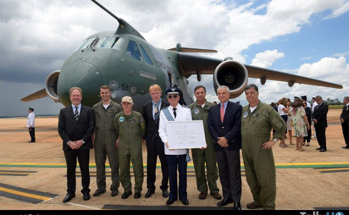 Embraer KC-390 recibe certificación de tipo de la ANAC