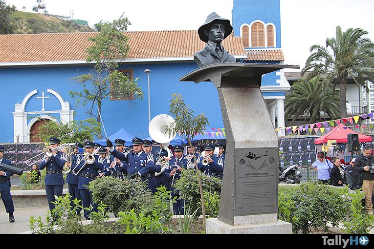 Inaugurado monumento al pionero aviador e inventor Alberto Santos Dumont