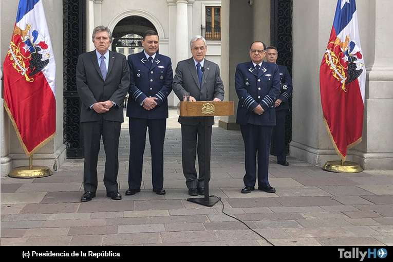Presidente Sebastián Piñera designa como nuevo Comandante en Jefe de la FACH al General Arturo Merino Núñez