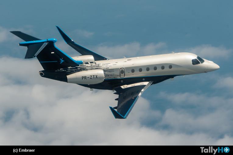 Embreaer presentó nuevos aviones ejecutivos Praetor 500 y 600