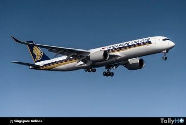 La compañía Singapore Airlines lanzó el vuelo comercial más largo del mundo desde Singapur hasta Nueva York
