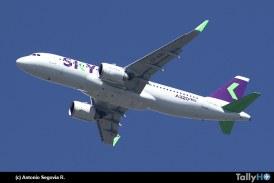 50% de aviones SKY ya son A320Neo