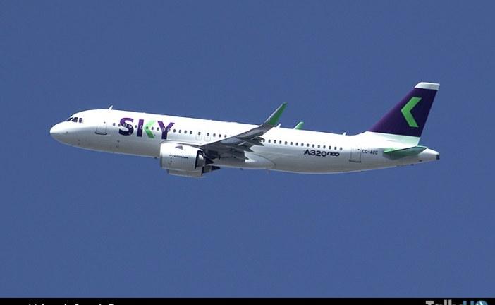 Sky Perú se posiciona como la segunda aerolínea en el Perú