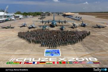 Se inició el Ejercicio Aéreo Cruzex 2018 en Natal Brasil