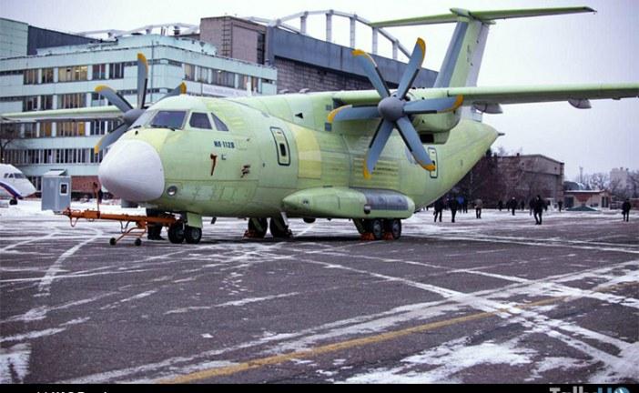 Avión de transporte liviano IL-112B fue entregado para las pruebas previas a su primer vuelo