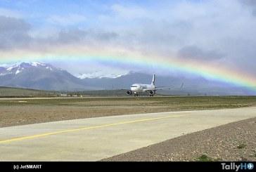 Con vuelos directos a Santiago, Temuco y Punta Arenas JetSMART comenzó a volar a Balmaceda