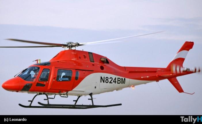 Exitoso primer vuelo de helicóptero Leonardo TH-119 especialmente diseñado para la US Navy