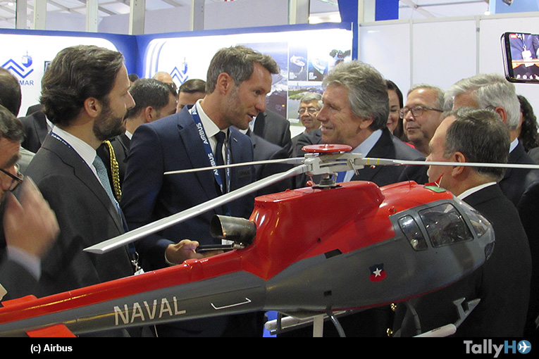 Airbus presenta soluciones para misiones navales y marítimas en Exponaval 2018