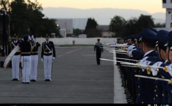 Ceremonia de egreso de nuevos oficiales a la Fuerza Aérea de Chile