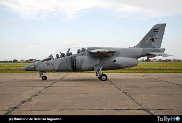 FAdeA presentó tres aviones de entrenamiento avanzado IA-63 Pampa III