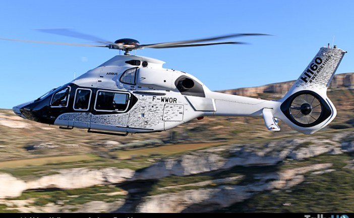 Primer Airbus Helicopters H160 de serie se alza en vuelo