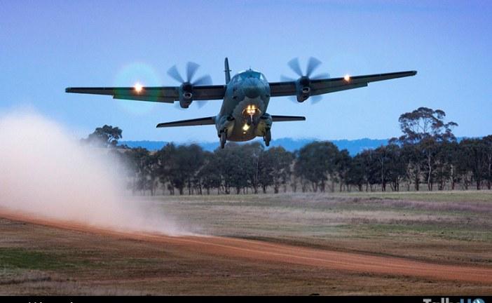 Nueva configuración del Leonardo C-27J Spartan realizó su primer vuelo