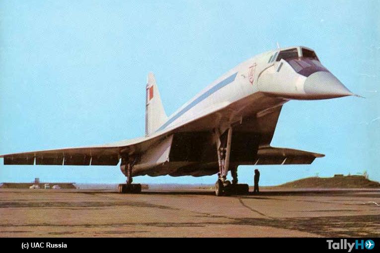 50 años del primer vuelo del supersónico Tupolev Tu-144