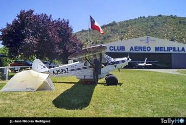 Visita de Alaska en el Club Aéreo de Melipilla