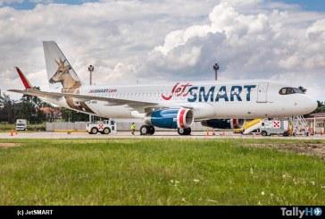 JetSMART inició operaciones hacia Argentina y obtiene certificación para vuelos domésticos dentro de ese país