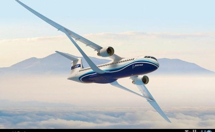 Boeing presenta nuevo concepto de avión transónico