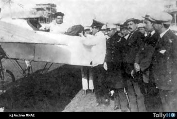 100 años del exitoso correo aéreo del aviador Clodomiro Figueroa en Chile