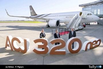 Acropolis Aviation recibe el primer ACJ320neo